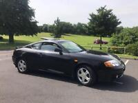 Hyundai coupe 2004 2.0 FULL black LEATHER INTERIOR superb drive 2 keys remote central locking