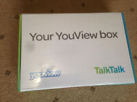 YouView Box, Brand New, Boxed. Reduced to Clear