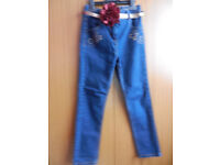 Tu Girls Blue Denim Jeans
