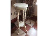Vintage antique style upcycled lamp/plant stand