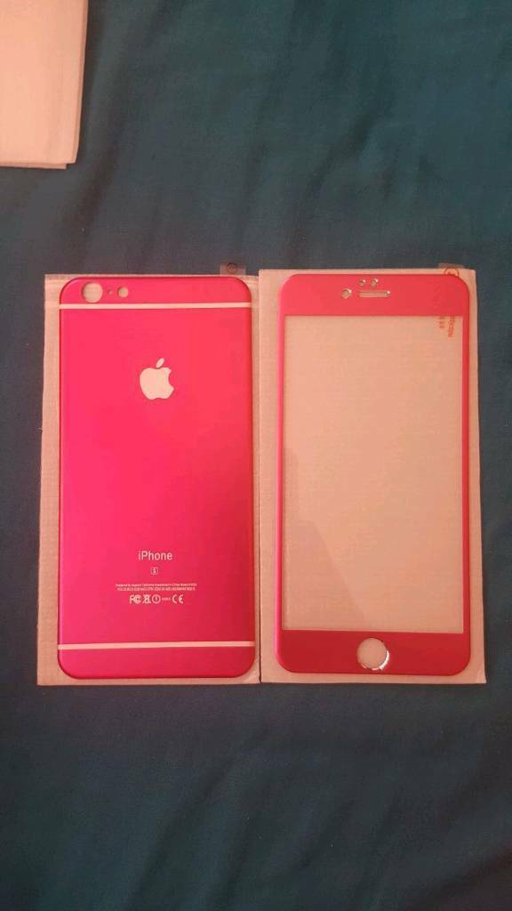 IPhone 6s/6s Plus ALUMINIUM TEMPERED SCREEN PROTECTORin Bradford, West YorkshireGumtree - IPhone 6s/6s Plus ALUMINIUM TEMPERED SCREEN PROTECTOR. Brand New ALUMINIUM TEMPERED SCREEN PROTECTOR plate Front and Back, in rose pink. Gives your phone a brand new look. Please RING TEXT WONT BE REPLIED TO