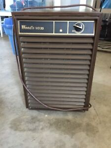 Woods dehumidifier for sale.