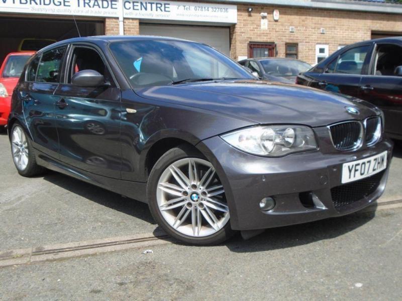 2007 07 BMW 1 SERIES 2.0 118D M SPORT 5D 141 BHP DIESEL