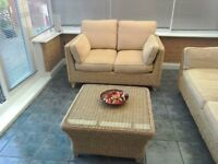 Must sell due to moving house conservatory furniture excellent condition