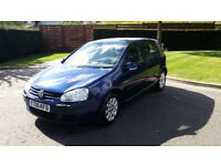 Volkswagen Golf 1.6 SFI 5dr - 2005, HPI Clear, 12 Months MOT, Service History, Drives Great! £2499