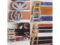 Men's designer belts - £15 Versace   Hermes   Armani   Giuseppe zanotti