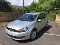 2011 61 VOLKSWAGEN GOLF ,1.6 MATCH ,TDI BLUEMOTION TECHNOLOGY, DSG 5D AUTO 105 BHP .FSH