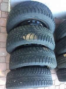 "195/60R15 Winter Tires 15"" Nissan Versa"
