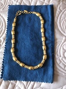 Monet Gold Link necklace