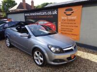 VAUXHALL ASTRA 1.6 TWIN TOP SPORT, Silver, Manual, Petrol, 2008