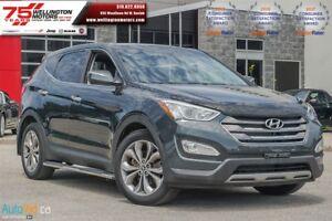 2013 Hyundai Santa Fe Sport 2.0T   LOW LOW KM'S !! NO ACC !! WAR