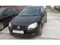 **FOR BREAKING** 2008 VW VOLKSWAGEN POLO 1.4 TDI DIESEL (CHOICE OF THREE).