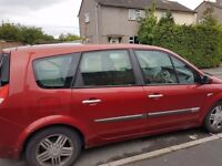 Renault grand scenic 2.0 petrol swap for a bigger 7 seater