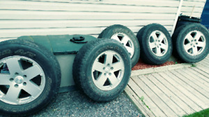 Jeep rims and tires - 255/70/18