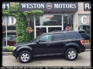 2011 Ford Escape XLT *FLEX FUEL *BLUETOOTH *SIRUS *POWER GROUP
