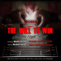 Chosen Promotions Presents: The Will to Win - Amateur Fight Nigh