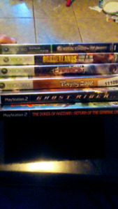 Xbox 360 games and ps2 games
