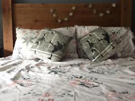 Football cushions