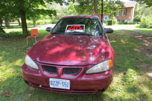 2004 Pontiac Grand Am  ($1200 OBO) Pt. Burwell **NEED GONE**