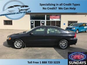 2008 Volvo S60 AS TRADES!!Leather,sunroof,cruise,ac!!!!