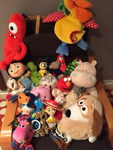 Stuffies, puppets and random