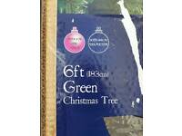 Green christmas tree 6ft vgc