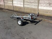 Erde 310 motorcycle trailer