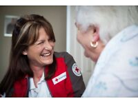 Volunteer for the British Red Cross in Blackpool - Tackling Loneliness