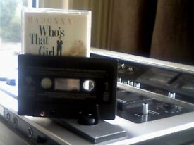 MADONNA - WHO'S THAT GIRL PRERECORDED CASSETTE TAPE