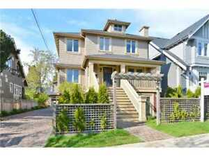 Gorgeous (2012) 3 bed 3.5 bath Kitsilano