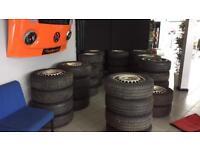 24 x commercial van Tyres 205 65 16 VW T5 T6 Mercedes ford transit