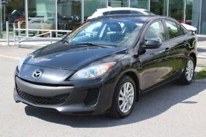 2012 Mazda Mazda3 GS*MAN*AC*BLUETOOTH*CRUISE*SIEGES CHAUFF*GR EL