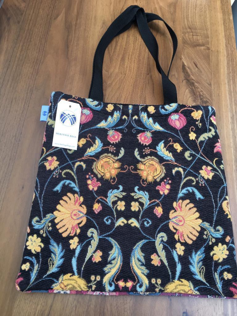 Unique brand new Heritage bag- William Morris inspired design