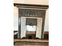 Four cast iron fire places all are around 1900 all require refurbishing. Original Edwardian era.