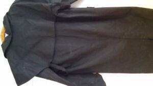 Manteau de moto noir pour  femme
