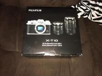 Fujifilm x-t10 new