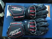 Rst tractech gloves large