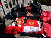 Manchester United official bundle .all bought from Manchester United official superstore