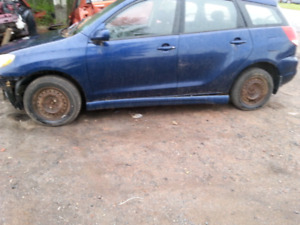 PARTING OUT 2007 TOYOTA MATRIX AWD