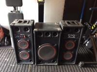 Skytec sound system. SPB-26