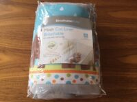 BreathableBaby 2 Sided Cot Mesh Liner in good condition (RRP £20)