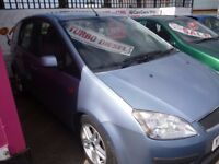 Ford Focus c-max zetec tdi,2 previous owners,clean tidy car,runs and drives as new,YY06PUA