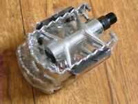 Mountain Bike Hybrid Bike Alloy Pedals Stronger Than Plastic Can Deliver If Local