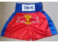 "Muay Thai Kick Boxing Shorts Silk Waist 26""- 36"" Brand New Authentic from Thailand"