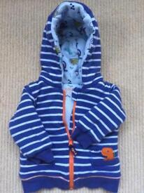 Baby boy cardigan 3-6 months