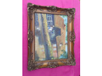 Oil Paint / Painting in Frame Vintage / Antique / antique FREE LOCAL DELIVERY