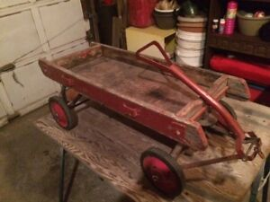 Vintage Red Wagon