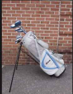 RAM Ladies Golf Clubs and Bag