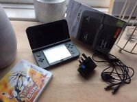 Nintendo 3DS XL and Pokemon Sun game As new