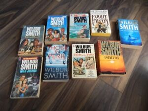 Wilbur Smith Books $1 each or all for $5